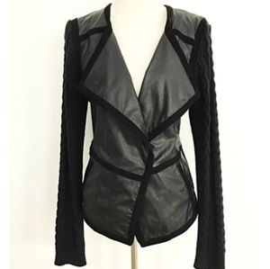 Anthropologie Hiroumi Moto Sweater Jacket In XS